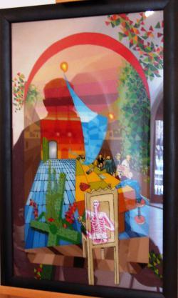 Picturi surrealism Cina cea de Taina 1