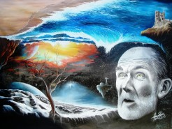 Picturi surrealism At the end of the world