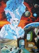 Picturi surrealism Mistique 2 :veni vedi