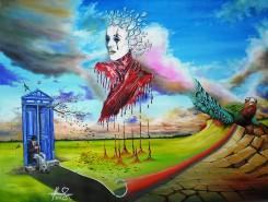 Picturi surrealism The ascent