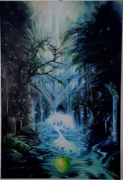 Picturi surrealism Marul din Eden