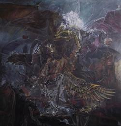 Picturi surrealism ANGEL OF WRATH