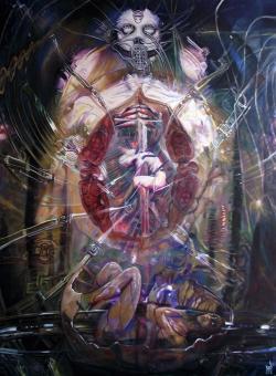 Picturi surrealism Armagedon Angel