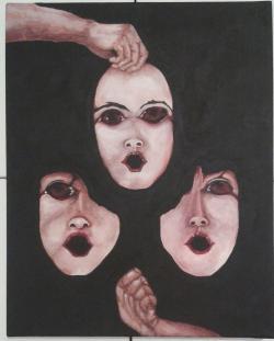 Picturi surrealism Angoasă
