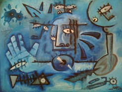 Picturi surrealism Omagiu lui picasso
