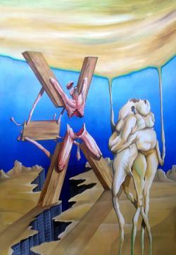 Picturi surrealism Sfantul Andrei
