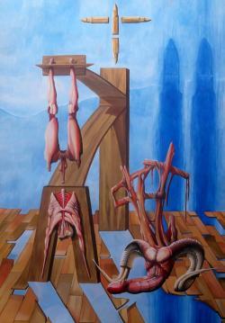 Picturi surrealism Sfantul Petru