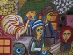 Picturi surrealism Din lumea satului